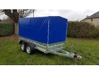 CAR TRAILER 10 X 5 BRAND NEW 2700KG BOX TRAILER