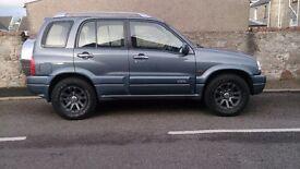 Suzuki Grand Vitara with LPG 2005 reg, only 2 owners