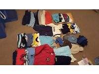 Bundle of boys 6-12 months clothes