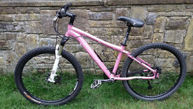 """Marin Bear Valley Mountain Bike ladies / girls specific 15"""" frame with upgraded components"""