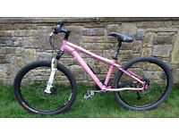 "Marin Bear Valley Mountain Bike ladies / girls specific 15"" frame with upgraded components"