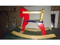 Baby wooden rocking horse rrp 69.99