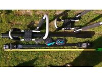 Roof Bar kit (low profile rails) &/or Kayak/Surfboard Carrier &/or heavy duty padded buckle straps