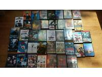 Movie DVDS and Blue ray