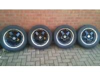 "Lenso RS5 16"" Alloy Wheels with tyers"