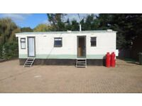 caravan on private site to rent 2 bed 30f tx12ft in finchampsted nr wokingham berkshire
