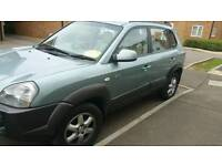 Hyundai Tucson, 2.0 diesel, 2006, automatic, full leather interior, 4wd, GENUINE 70k miles!