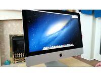 Apple iMac Slim 21.5 inch i5 ***2014*** 1.4 Ghz 8gb Ram 500 HD Logic9 Adobe FinalCutProX/Studio