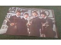 The Beatles 1960s vintage poster magazine
