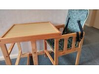 Infant/toddler heigh chair