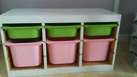 Ikea Trofast unit and drawers