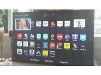 SAMSUNG 48 INCH LED HD SMART TV WITH X2 REMOTES IN BOX