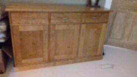 Next Cambridge solid oak sideboards