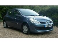 Renault Clio 1.5 DCI *Turbo Diesel*-12 Months MOT/5 DOOR/Air Con/1 LADY Owner /Full Service History!