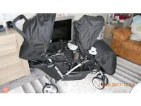 Graco Stadium Duo Pushchair - Oxford- double buggy -BRAND NEW