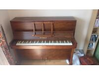 Over Strung Reisbach Piano, Good Condition