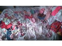 girls clothes bundle newborn - 3/6 months