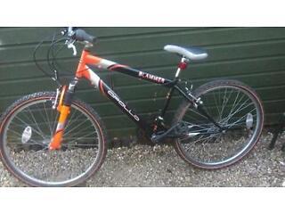 Apollo slammer mountain bike 16 inch frame