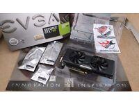 EVGA Nvidia GeForce GTX780 Superclocked ACX Cooler 3 GB GDDR5 RAM PCIe x16 (USED)