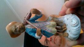 Meissen musician figurines