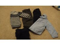 Boy's clothes age 12-18 months
