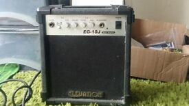 ELEVATION AMP USED GOOD CONDITION GUITAR USE ONLY WIRES INCLUDED