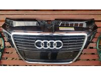 Audi A3 Front Grille - Off a 2010/2011 diesel sportback - chrome surround