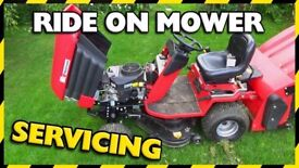 Ride on lawn mower / pedestrian mower / all garden machinery servicing, sales, parts & repairs