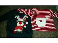 Christmas baby clothing
