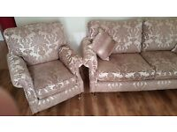 3 & 1 Suite. sofa/chair ---SOLD----