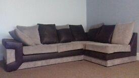 corner sofa 2 seater sofa pouffe