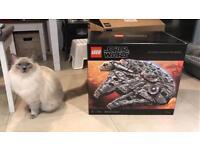 All new seal Lego 75192. Millennium Falcon (London)