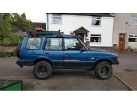 Off road equipped Discovery 300tdi