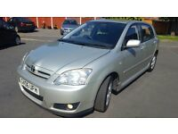 TOYOTA COROLLA 1.6 VVTI T3 2006 5 DOOR HATCH LOW MILEAGE WITH FULL HISTORY