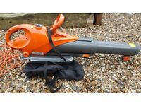 Flymo scirocco garden vac / leaf blower - used but in good working condition