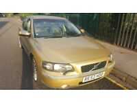 Volvo S60, T5 250bhp, Automatic Gearbox, Rare Gold Colour