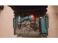 Makita, 8280D 14.4v Cordless hammer Drill.