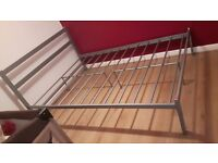 Mteal double bed frame