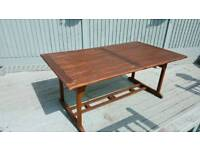 Large Wooden Extendable Table