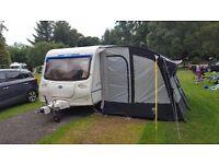 4/5 berth Bailey touring caravan for sale