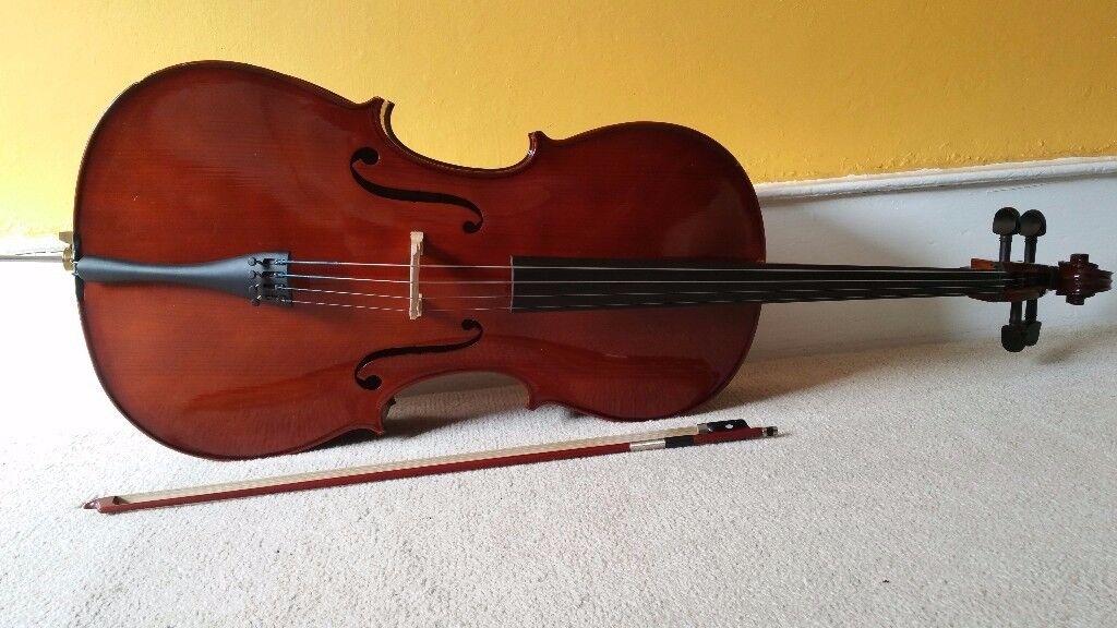 Cello Antoni ACC35, with a hard case and a bow - very good condition