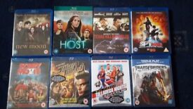 Blue-Ray 8 Movies Collection