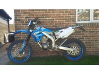 Tm 250 EFI Enduro 2012 New MOT and just serviced.
