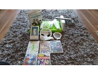 White wii console & accessories bundle