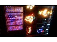 Merry Christmas Outdoor Wall Mounted Static or Flashing Light
