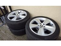 "17"" Alloy Wheels with Continental Tyres"
