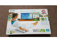 wii balance board & wii Fit U [wii U] - *New!*