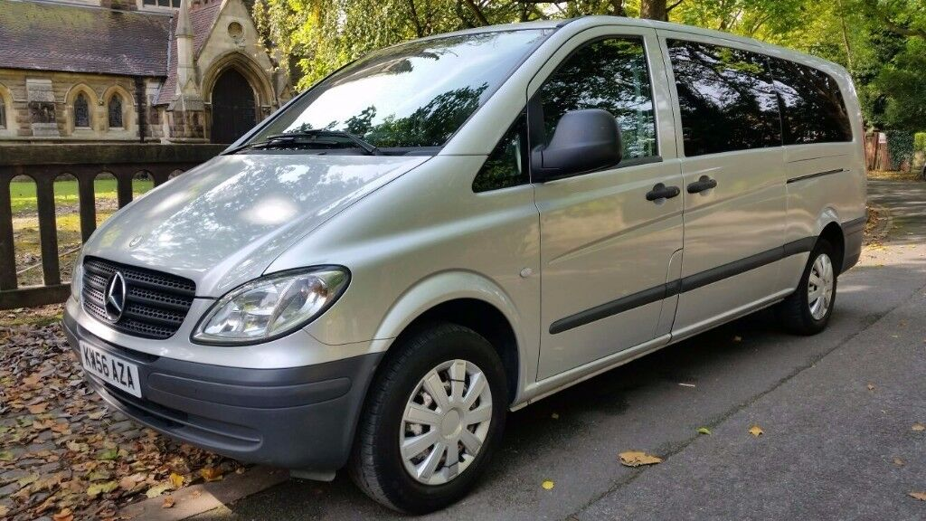 2007 MERCEDES BENZ VITO (VIANO) TRAVELINER V111 2.1 CDI X-LONG 9 SEAT XLWB LAST LADY OWNED