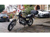 Huoniao HN125-8 125cc Motorbike with Topbox