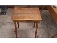Old Fashioned School Desk